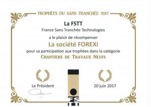 TROPHEE DU SANS TRANCHEE 2017