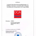 Attestation DCA 2019